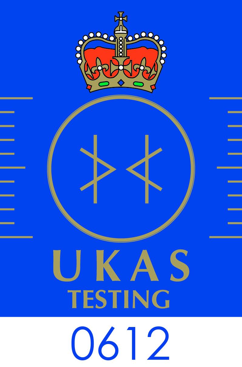 UKAS Logo CMYK Testing Lab 0612